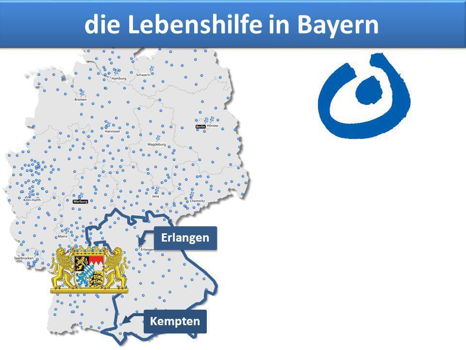 die Lebenshilfe in Bayern