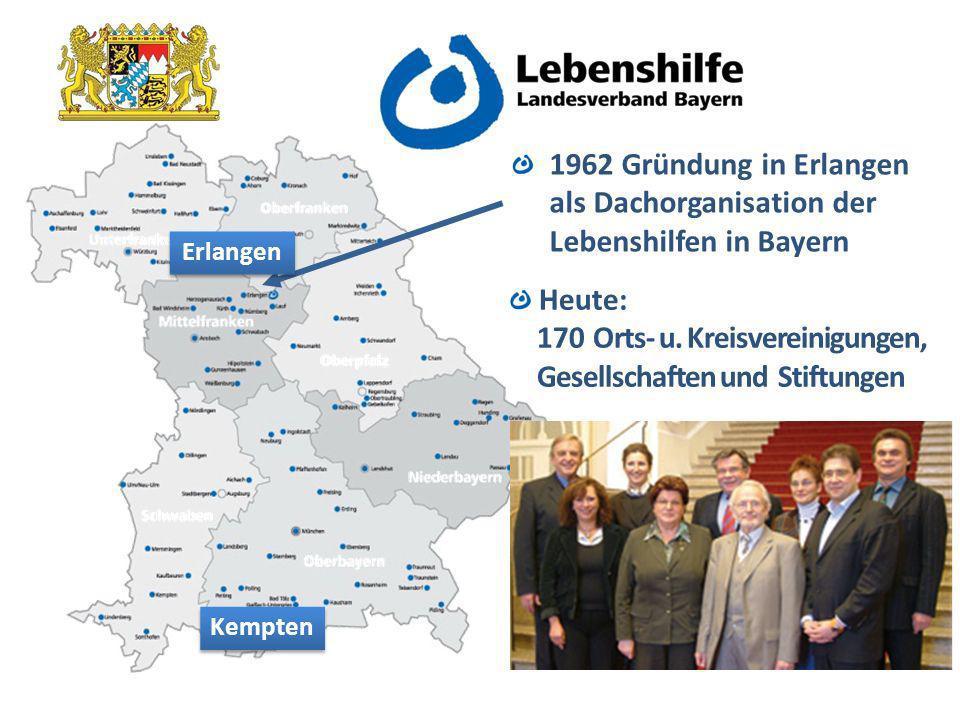 als Dachorganisation der Lebenshilfen in Bayern