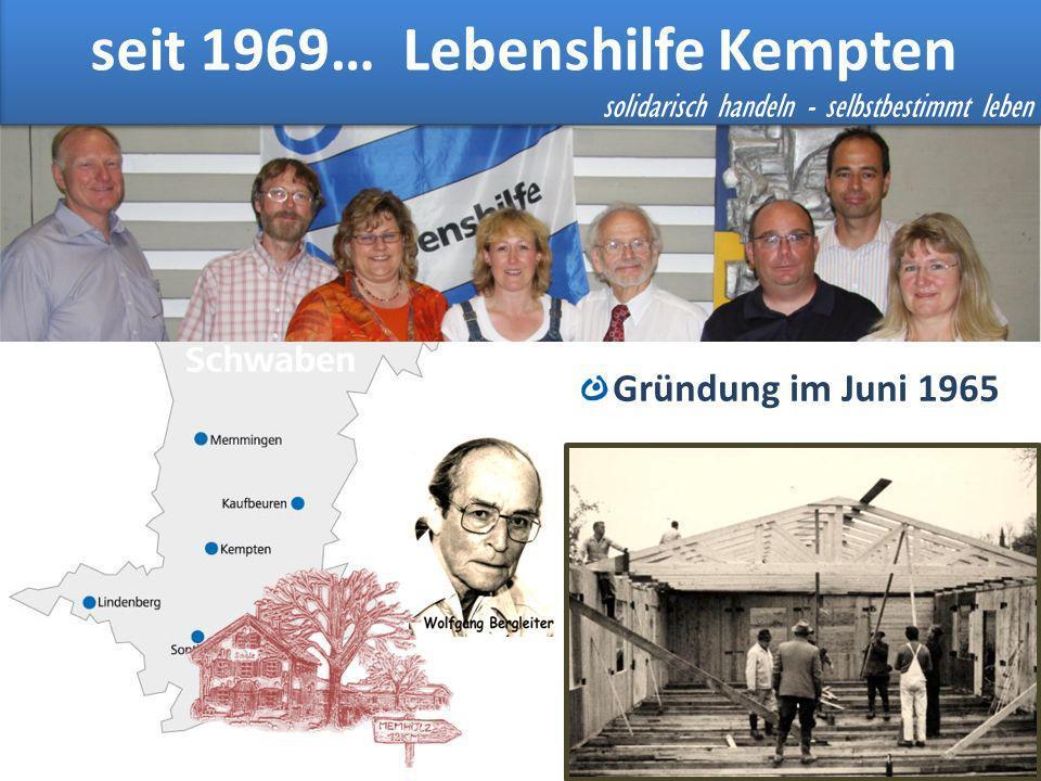 seit 1969… Lebenshilfe Kempten