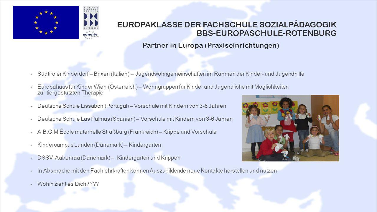 Europaklasse der Fachschule Sozialpädagogik BBS-Europaschule-Rotenburg