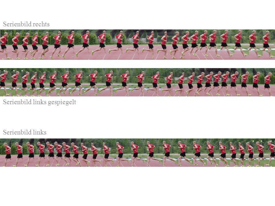 Serienbild rechts Serienbild links gespiegelt Serienbild links