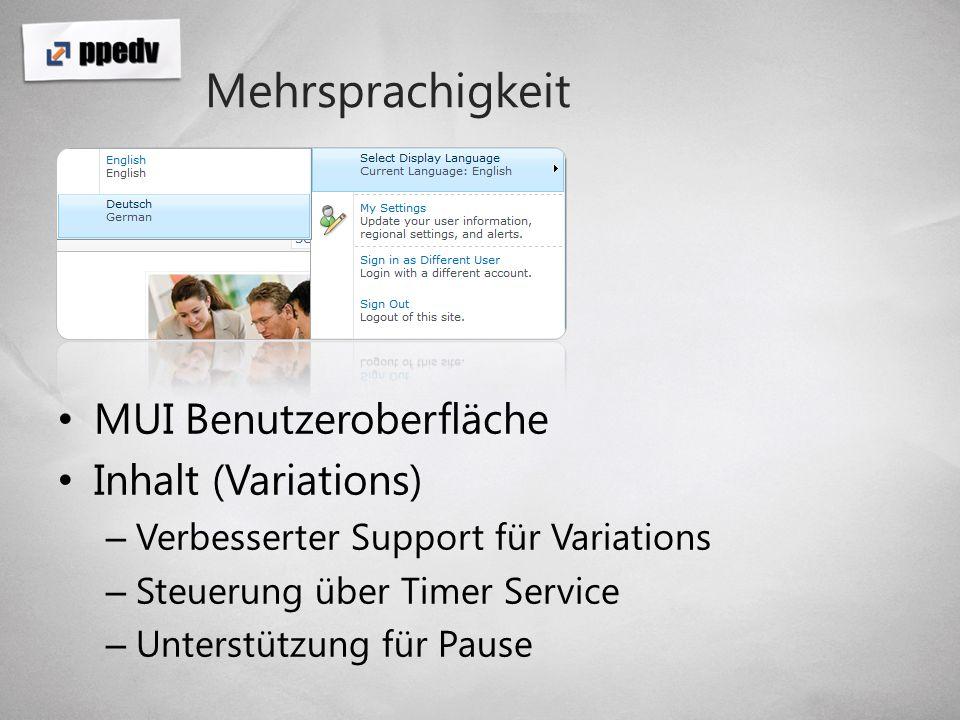 Mehrsprachigkeit MUI Benutzeroberfläche Inhalt (Variations)