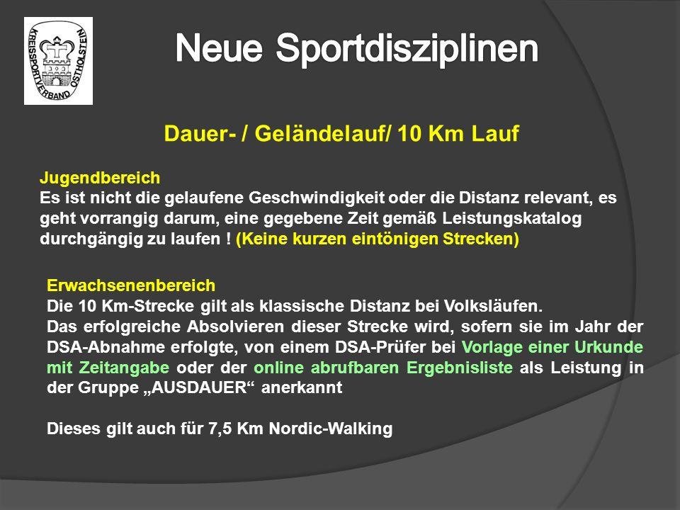 Dauer- / Geländelauf/ 10 Km Lauf