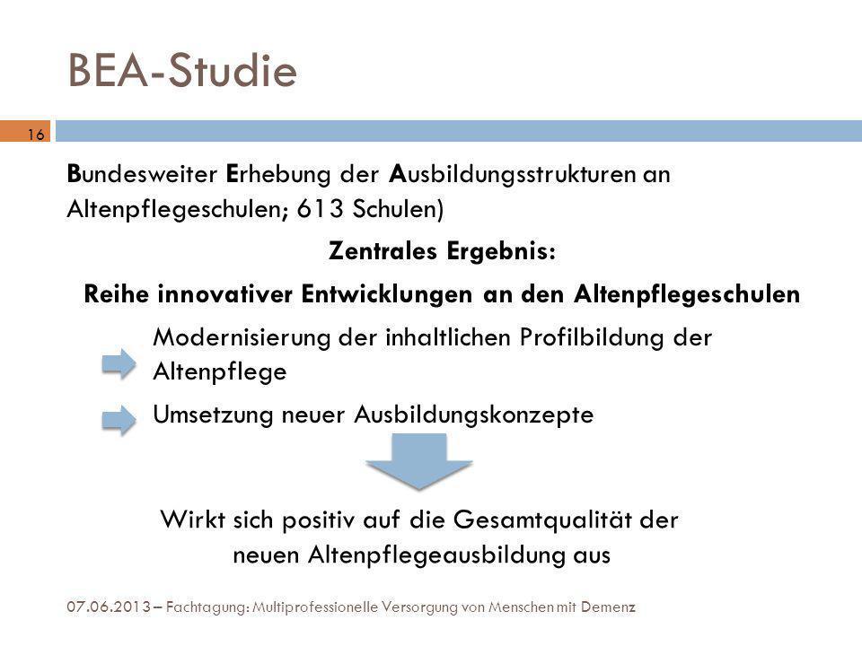 BEA-Studie 16.