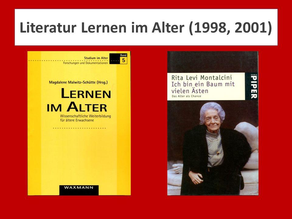 Literatur Lernen im Alter (1998, 2001)