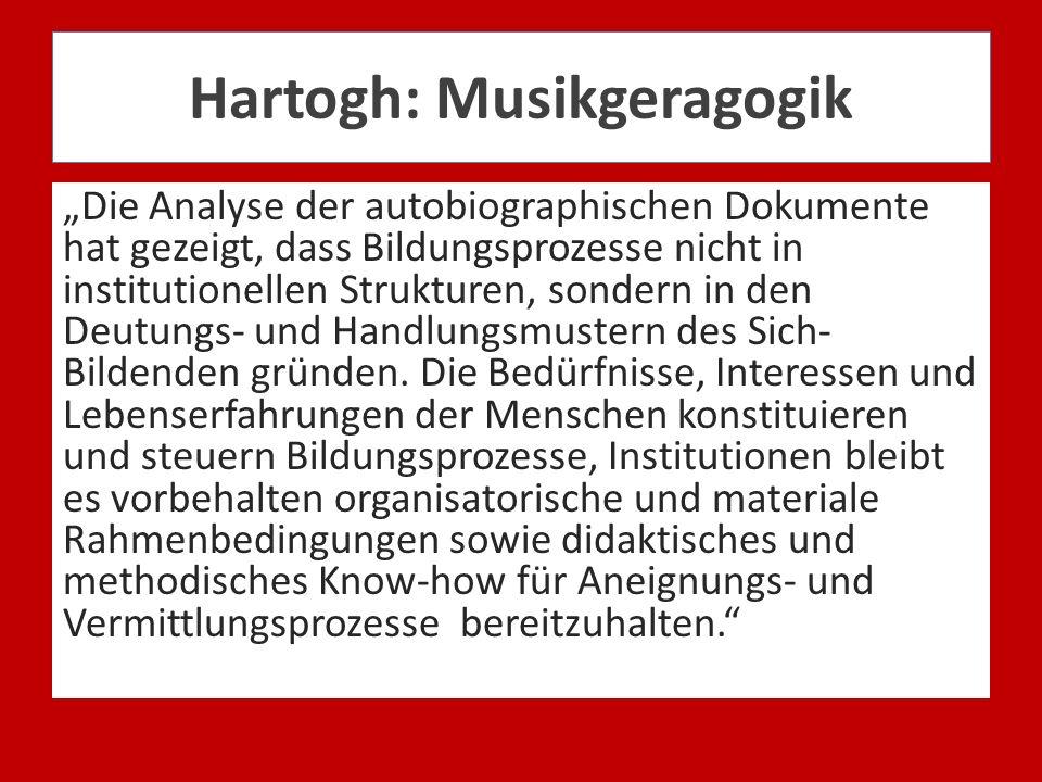 Hartogh: Musikgeragogik