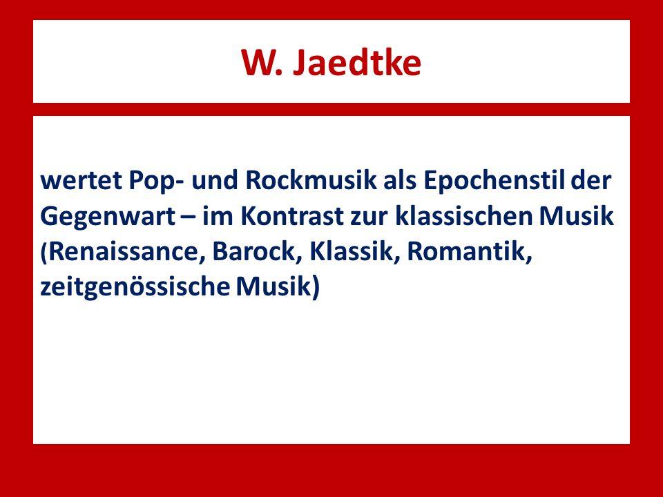 W. Jaedtke