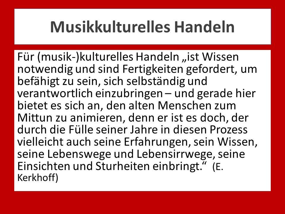 Musikkulturelles Handeln