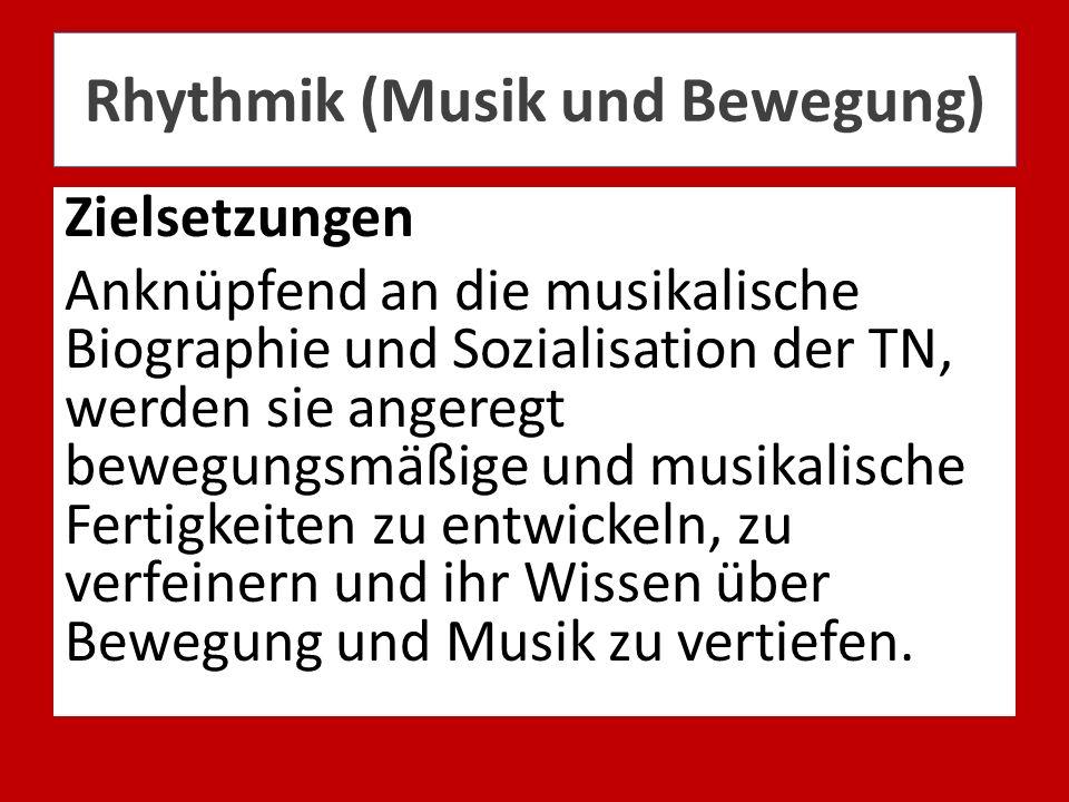 Rhythmik (Musik und Bewegung)