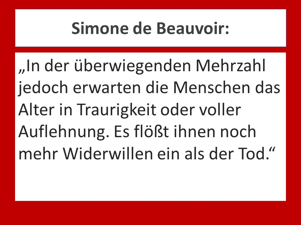 Simone de Beauvoir: