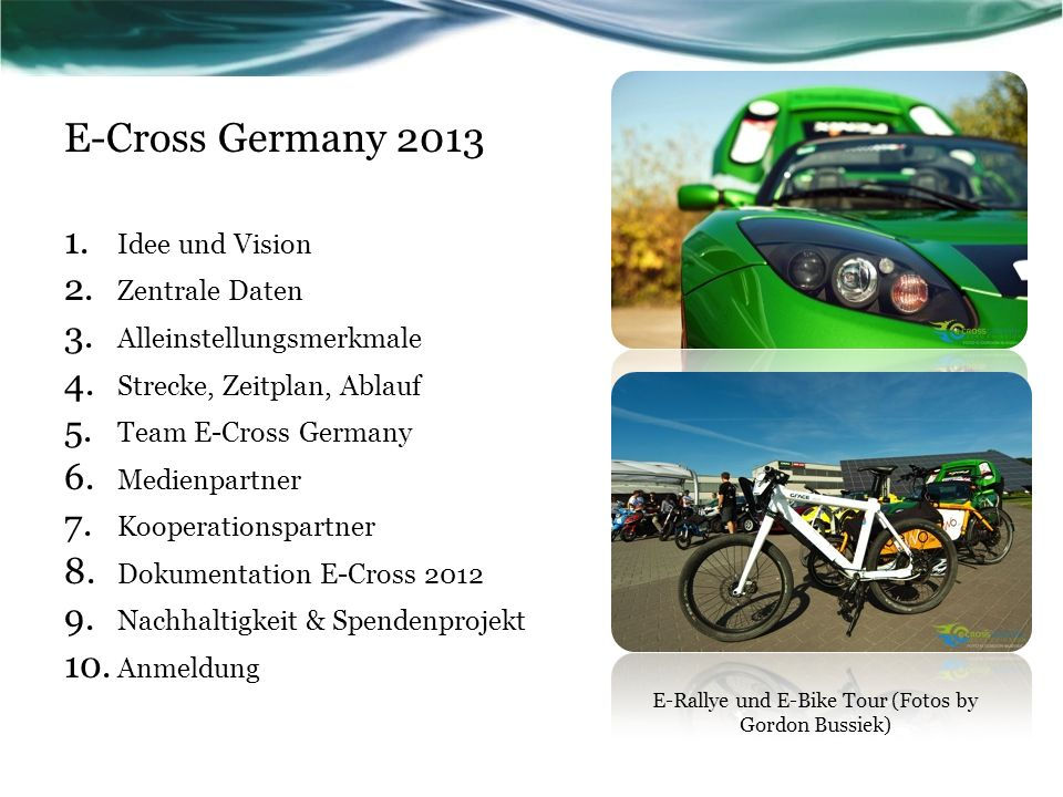 E-Rallye und E-Bike Tour (Fotos by Gordon Bussiek)