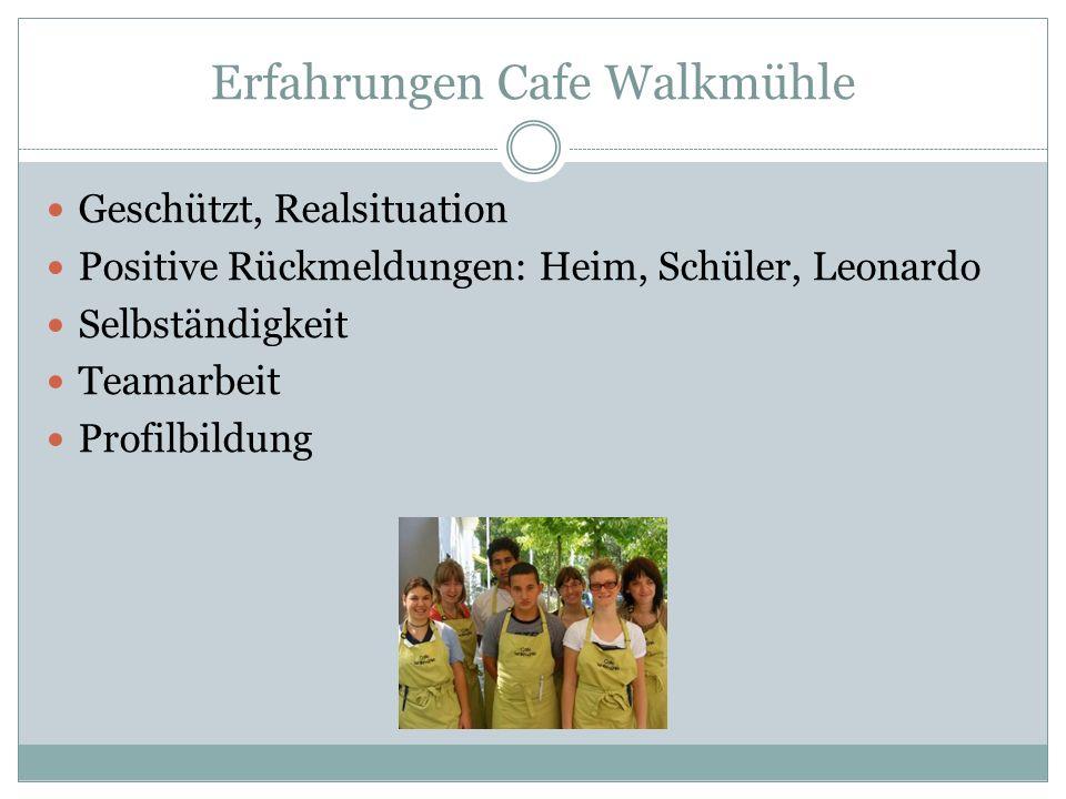 Erfahrungen Cafe Walkmühle