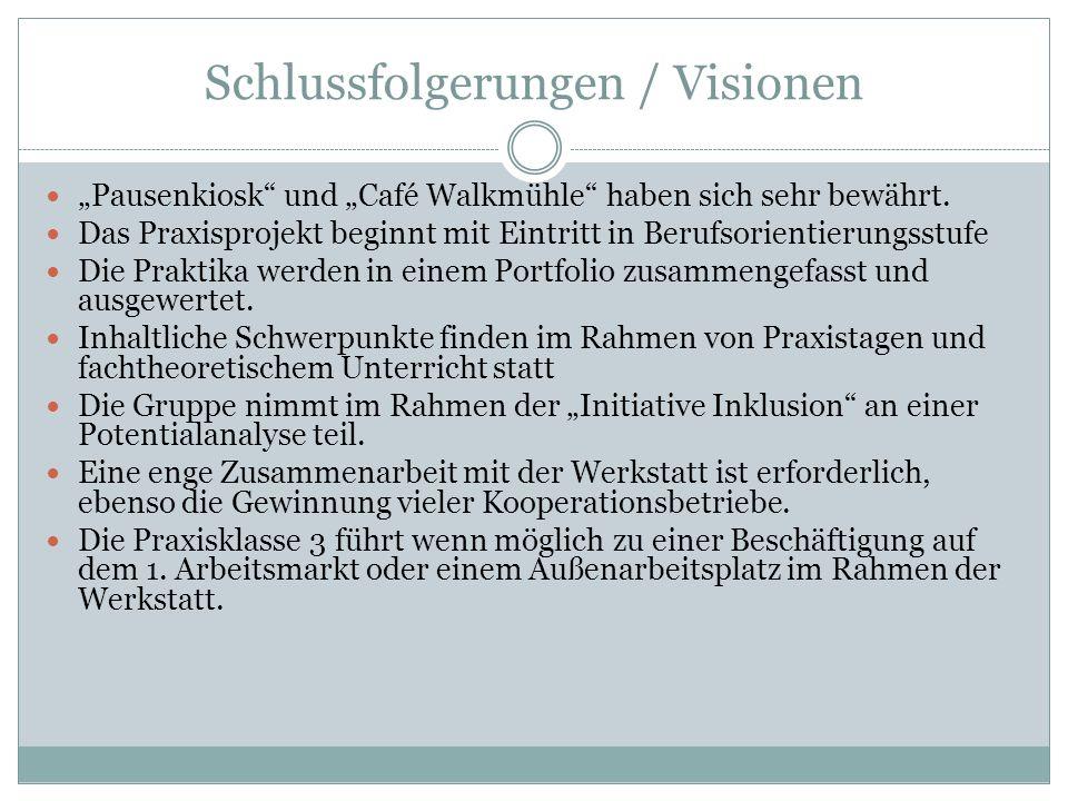 Schlussfolgerungen / Visionen