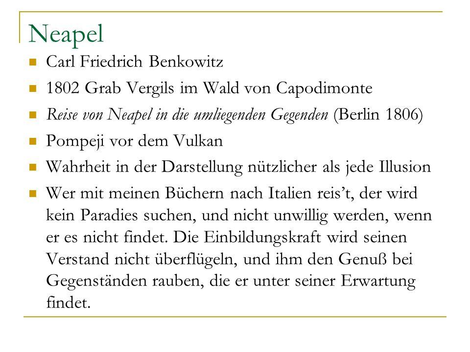 Neapel Carl Friedrich Benkowitz