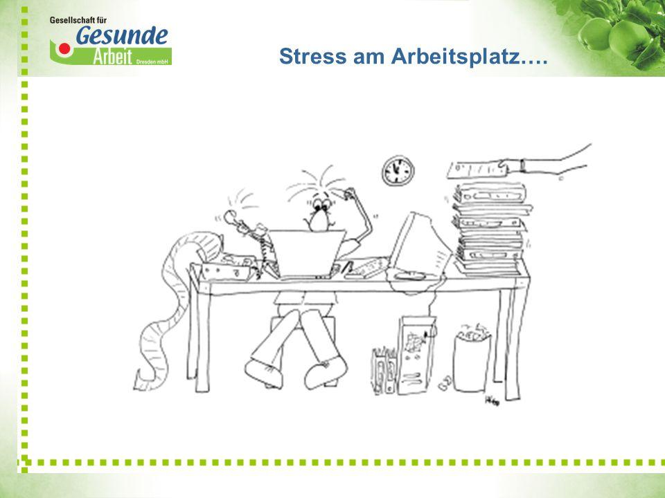 Stress am Arbeitsplatz….