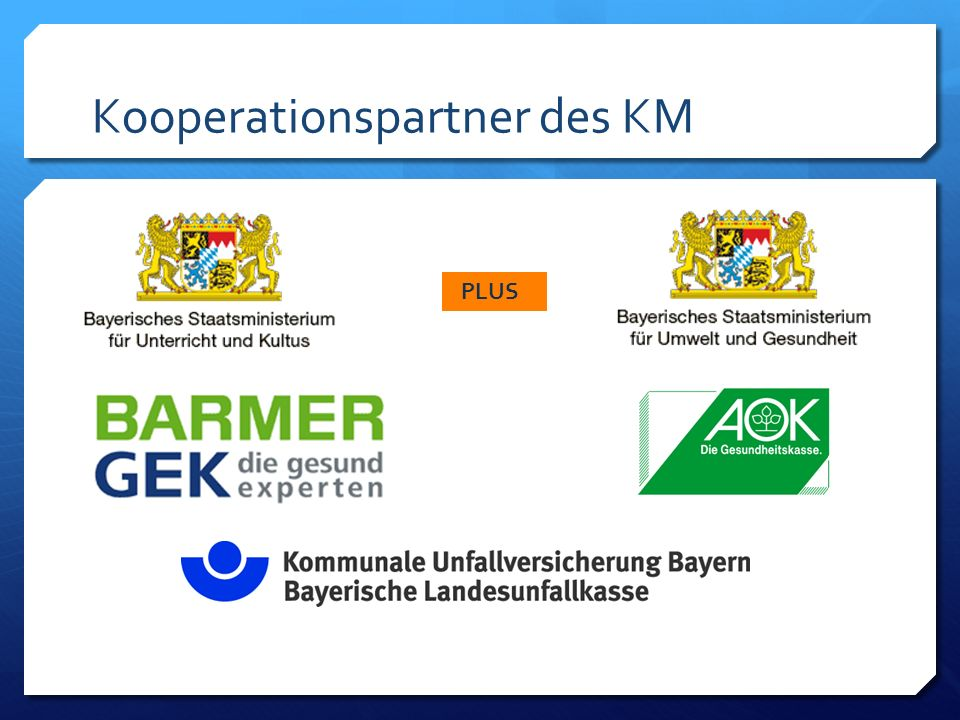 Kooperationspartner des KM