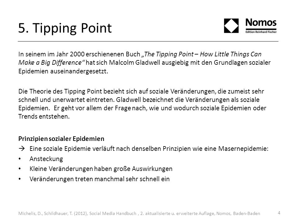 5. Tipping Point