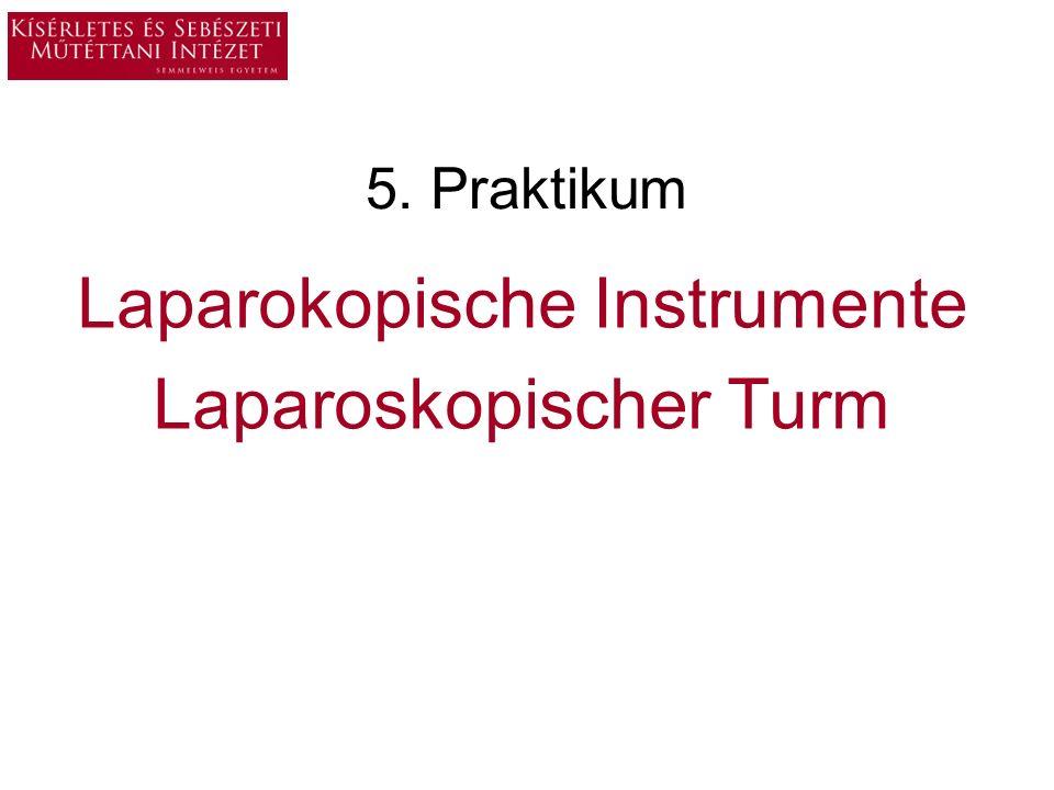 Laparokopische Instrumente Laparoskopischer Turm