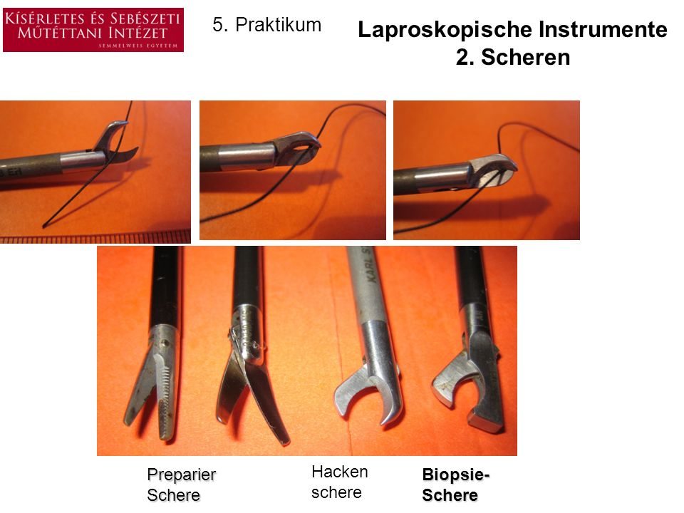 Laproskopische Instrumente