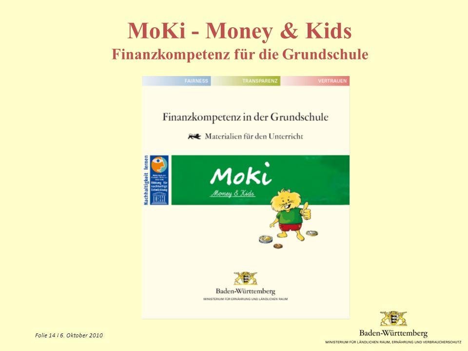 MoKi - Money & Kids Finanzkompetenz für die Grundschule