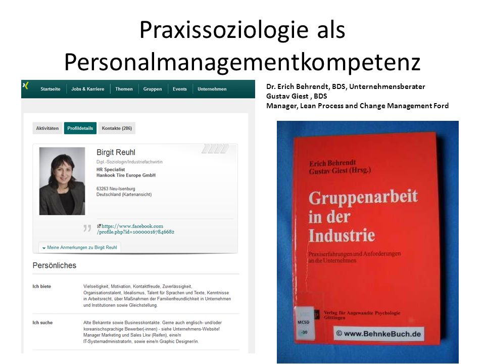 Praxissoziologie als Personalmanagementkompetenz