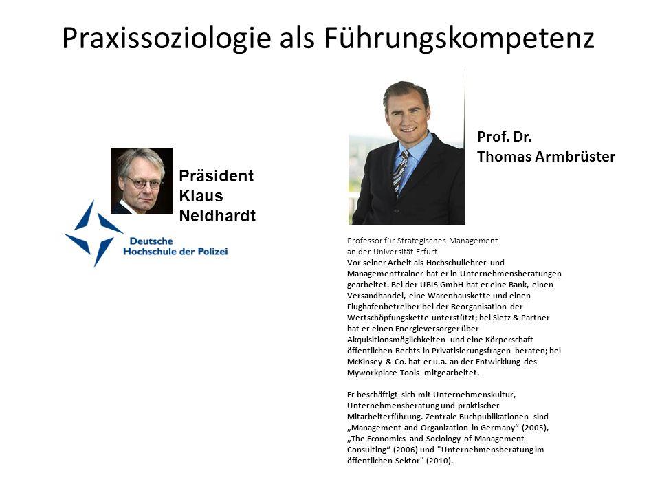 Praxissoziologie als Führungskompetenz