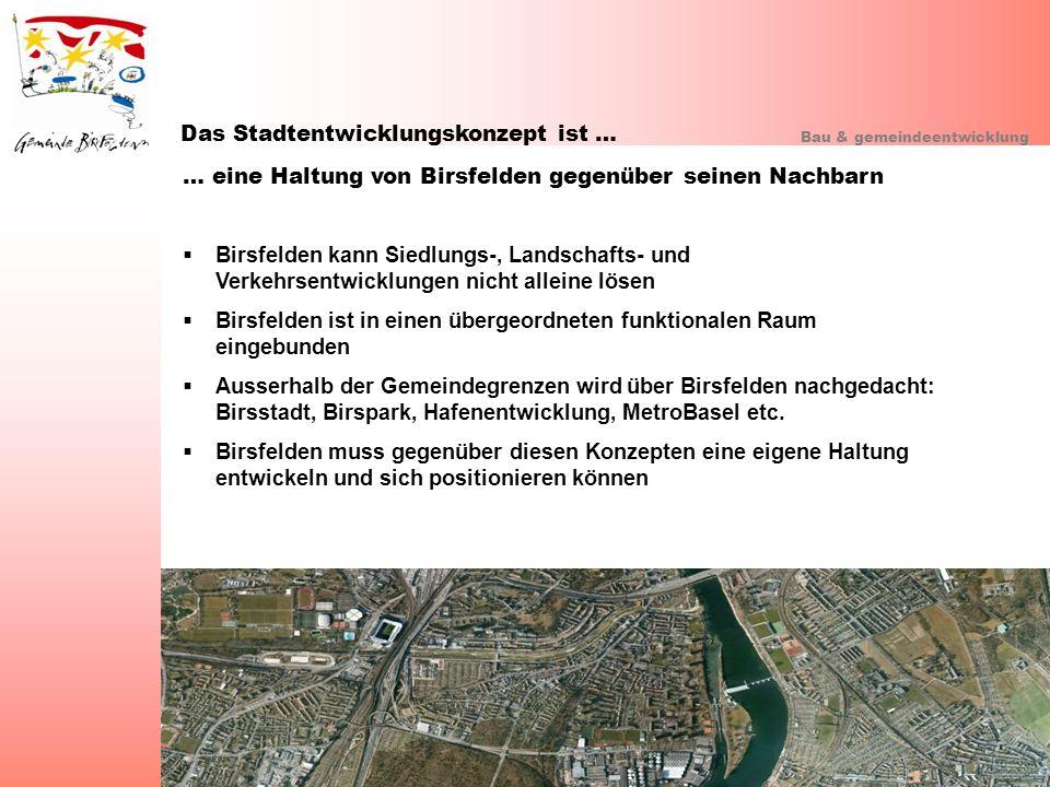 Das Stadtentwicklungskonzept ist …