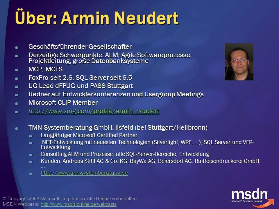 Über: Armin Neudert Geschäftsführender Gesellschafter