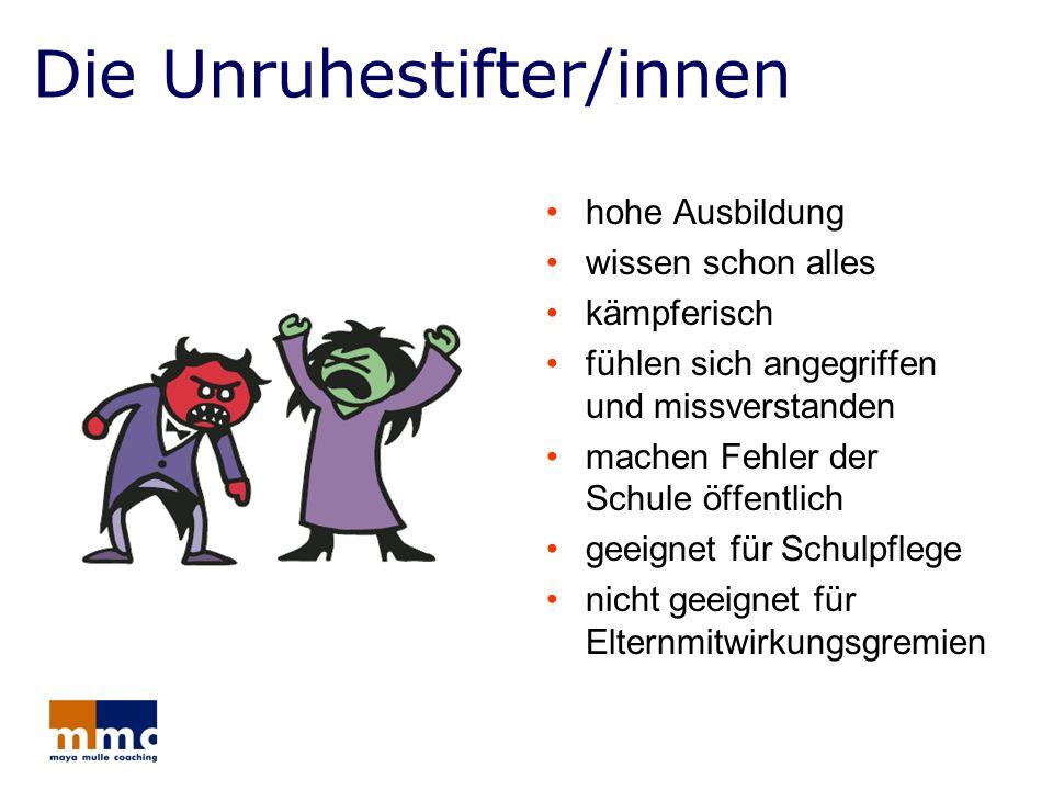 Die Unruhestifter/innen
