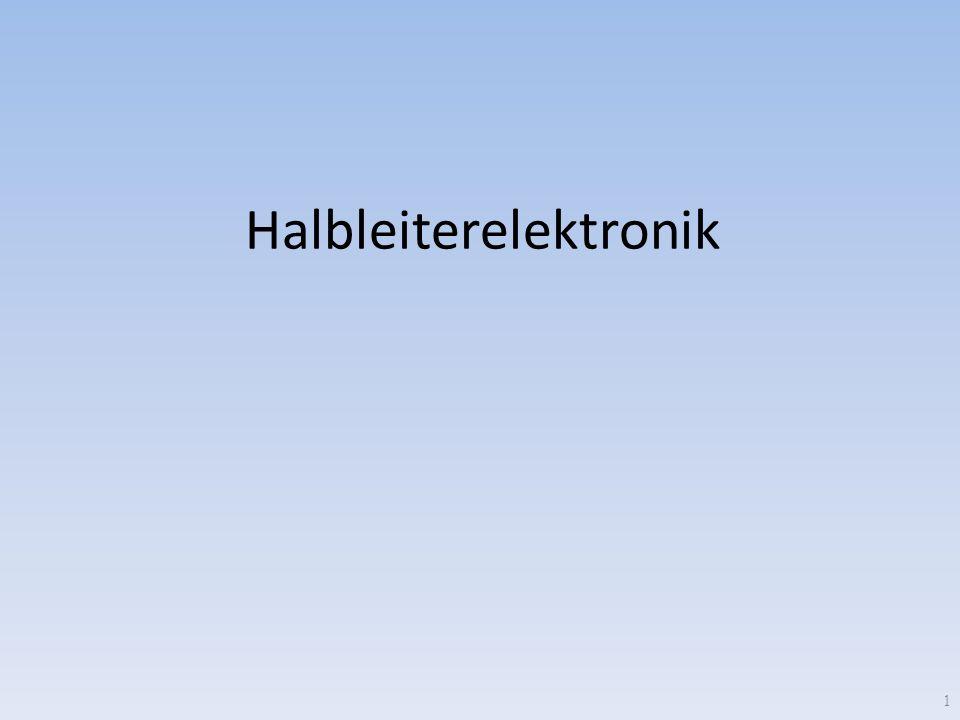 Halbleiterelektronik