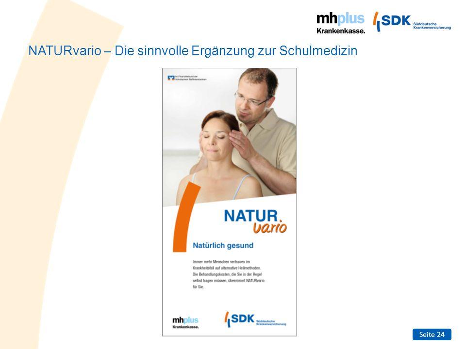 NATURvario – Die sinnvolle Ergänzung zur Schulmedizin