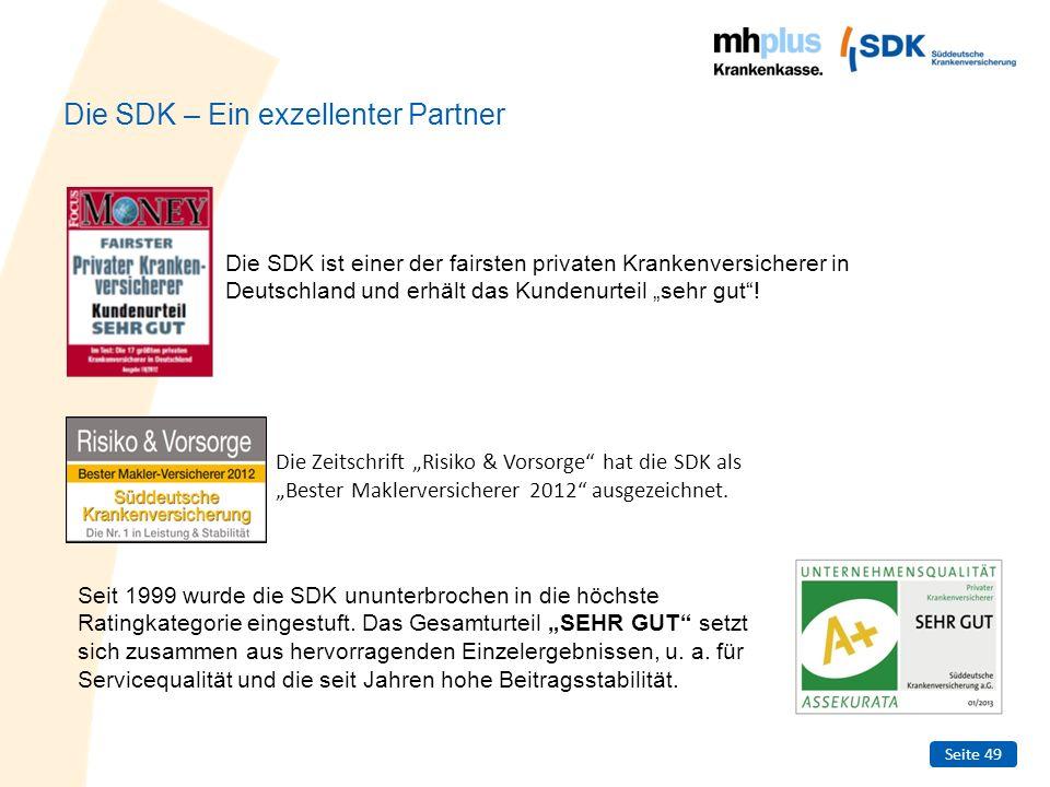 Die SDK – Ein exzellenter Partner