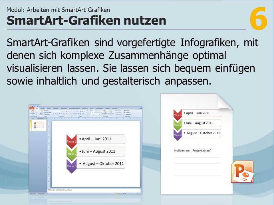 SmartArt-Grafiken nutzen