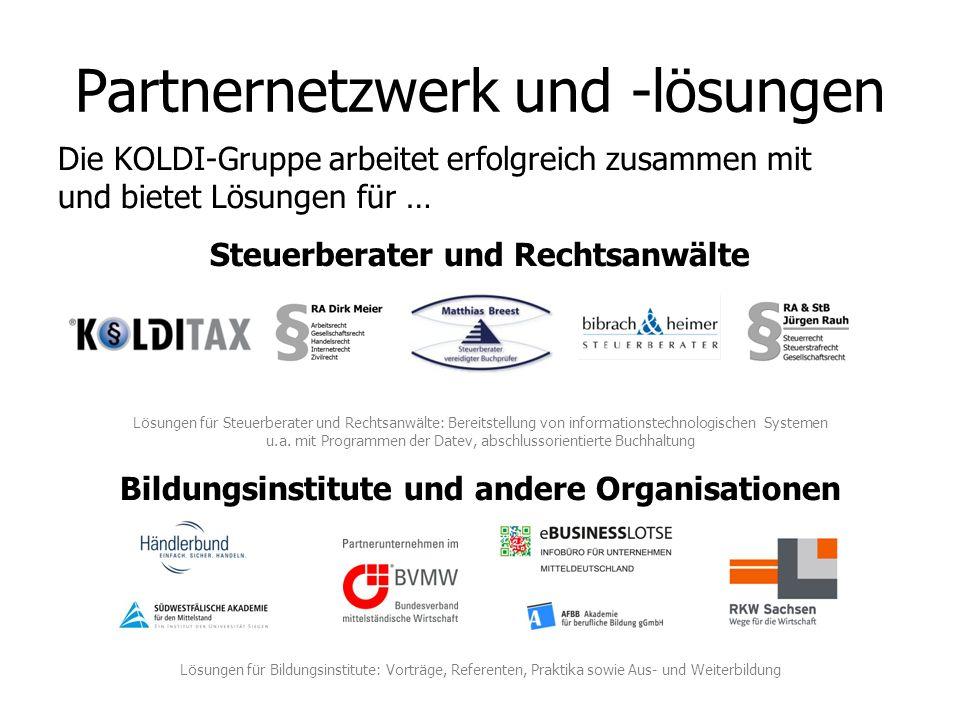 Partnernetzwerk und -lösungen
