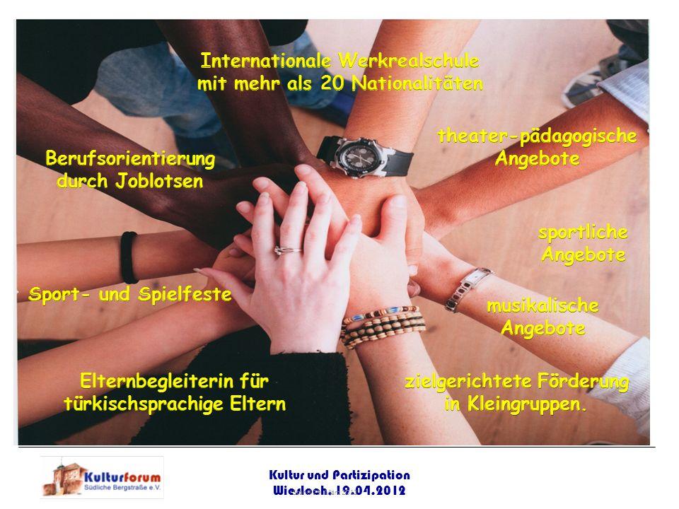 Internationale Werkrealschule mit mehr als 20 Nationalitäten