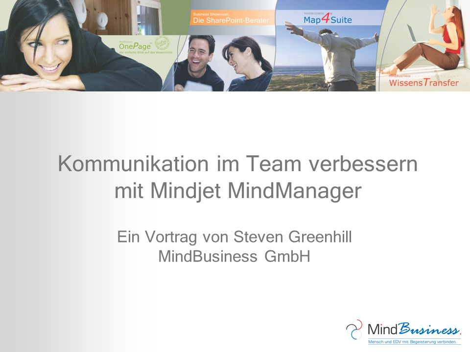 Kommunikation im Team verbessern mit Mindjet MindManager