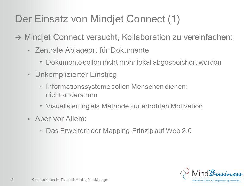Der Einsatz von Mindjet Connect (1)