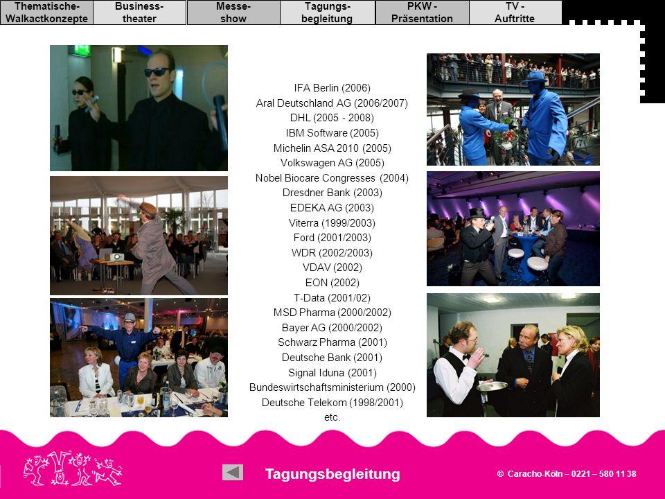 Tagungsbegleitung IFA Berlin (2006) Aral Deutschland AG (2006/2007)