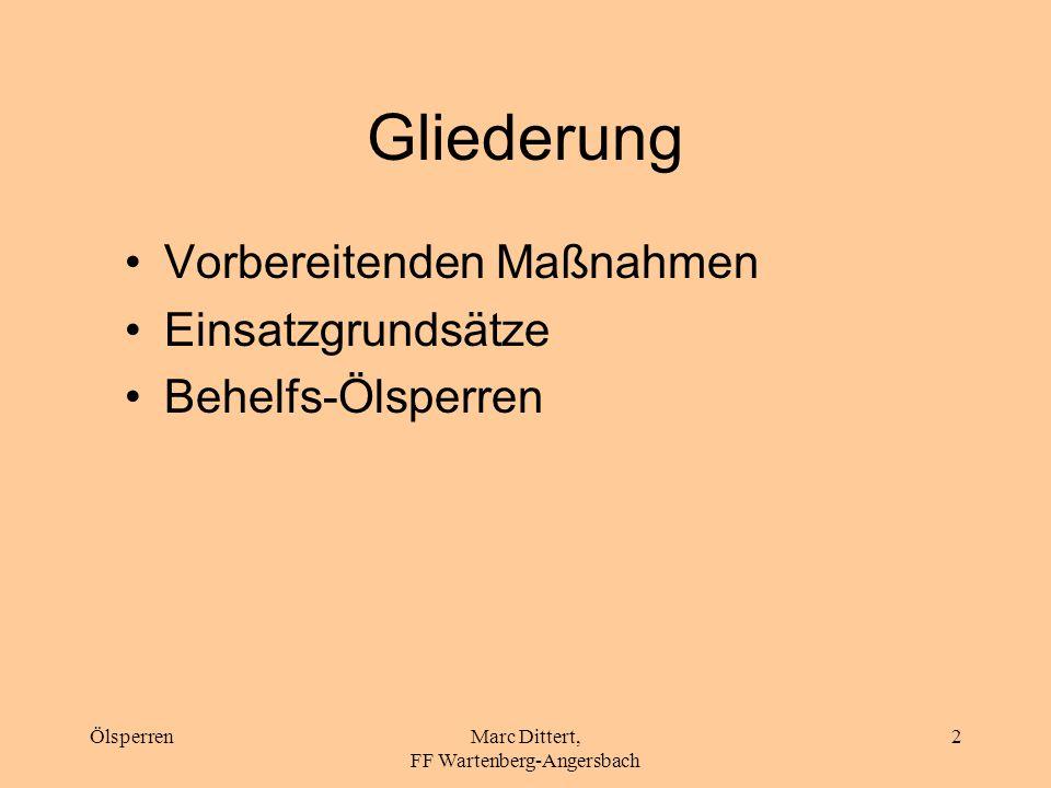 Marc Dittert, FF Wartenberg-Angersbach