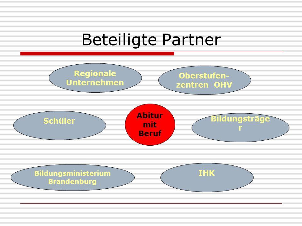Regionale Unternehmen Oberstufen-zentren OHV