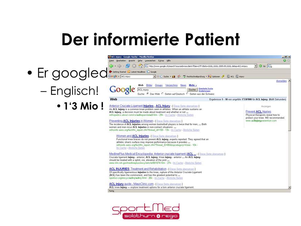 Der informierte Patient