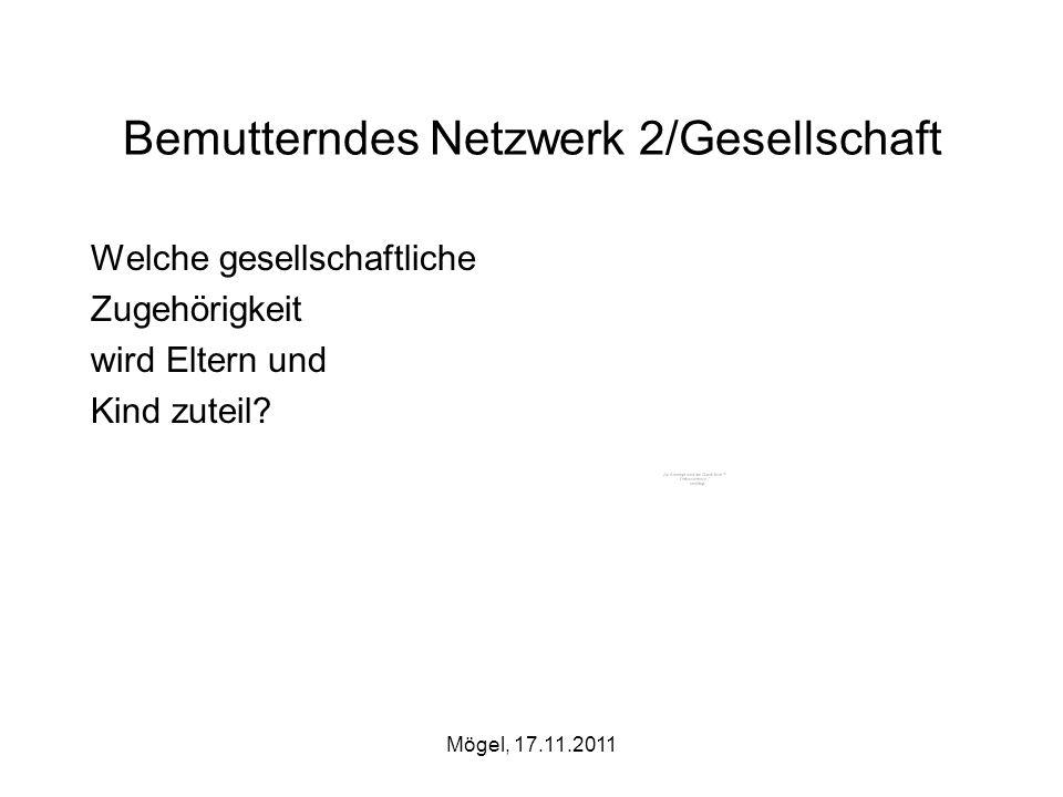Bemutterndes Netzwerk 2/Gesellschaft