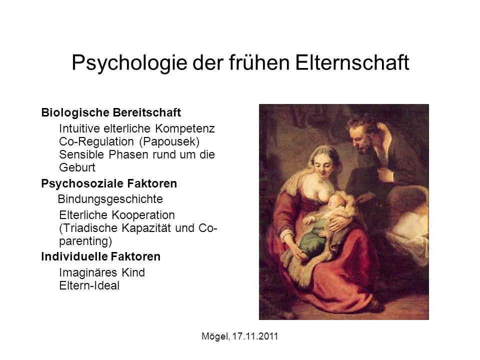 Psychologie der frühen Elternschaft