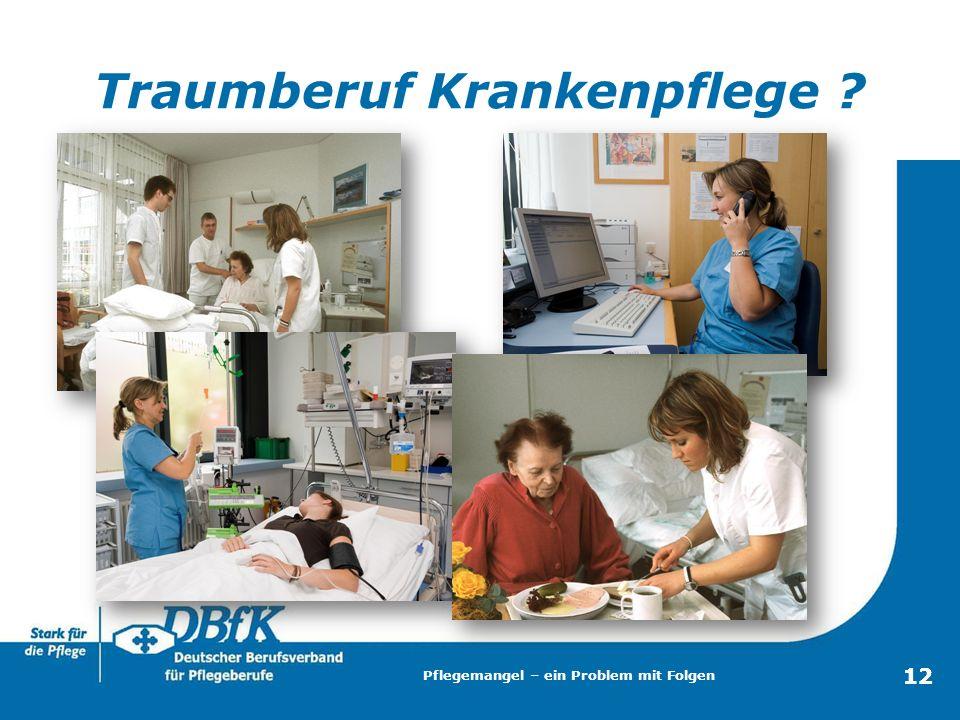 Traumberuf Krankenpflege