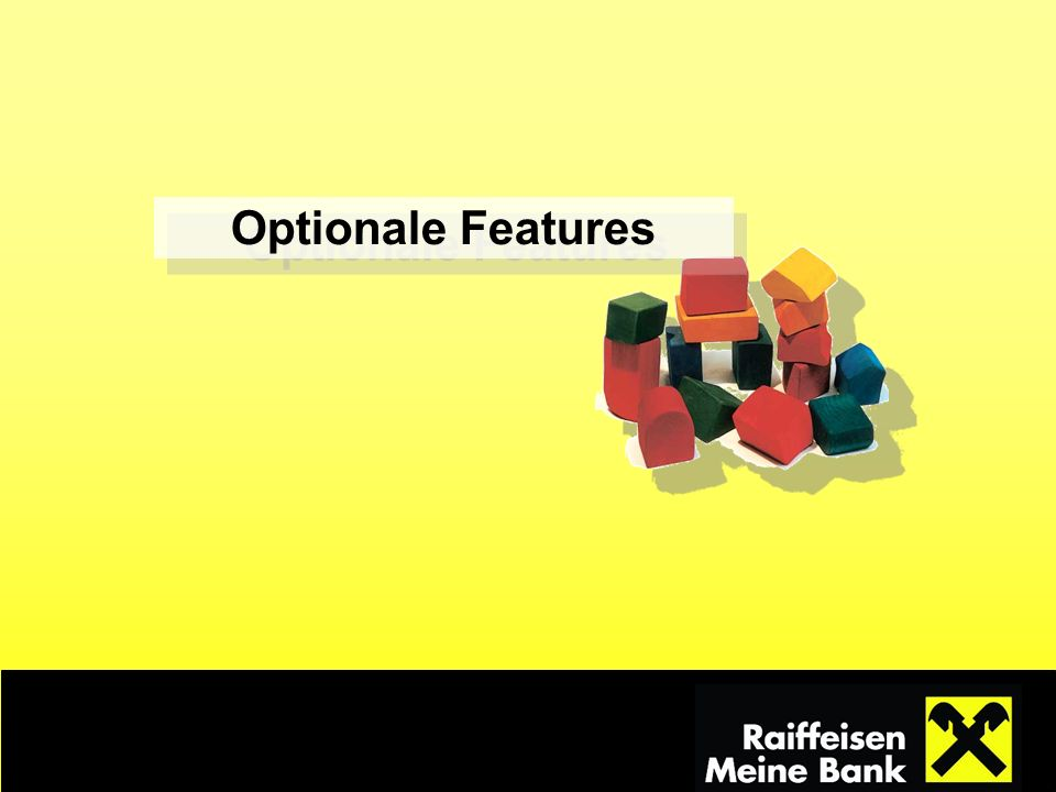 Optionale Features