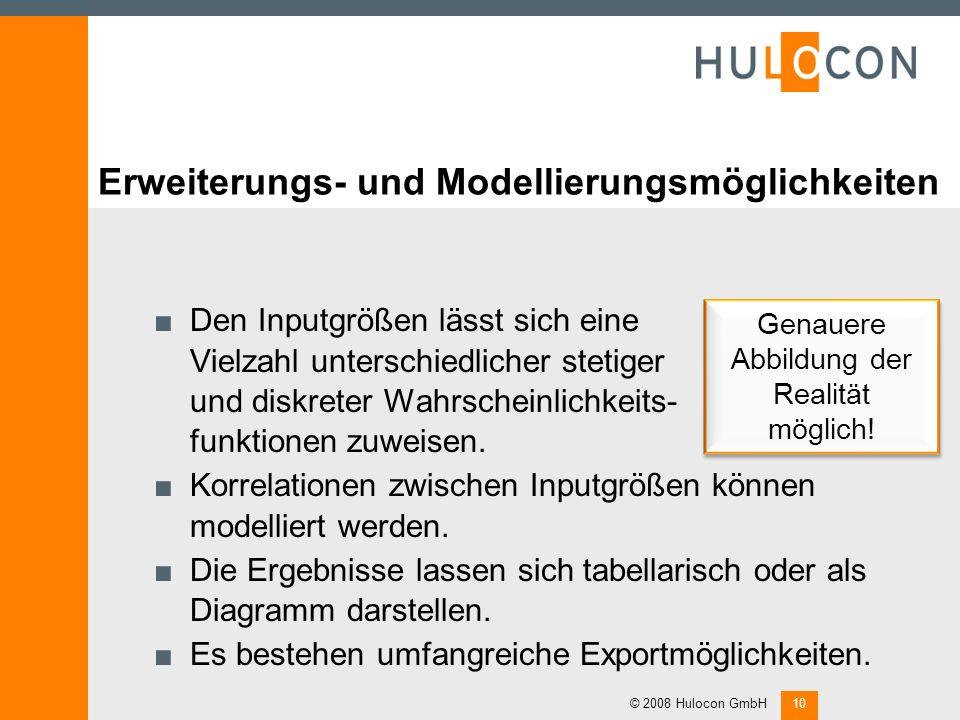 Erweiterungs- und Modellierungsmöglichkeiten