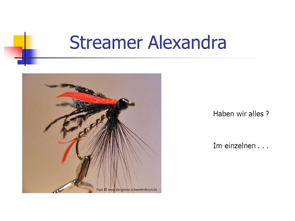 Streamer Alexandra Haben wir alles Im einzelnen . . .