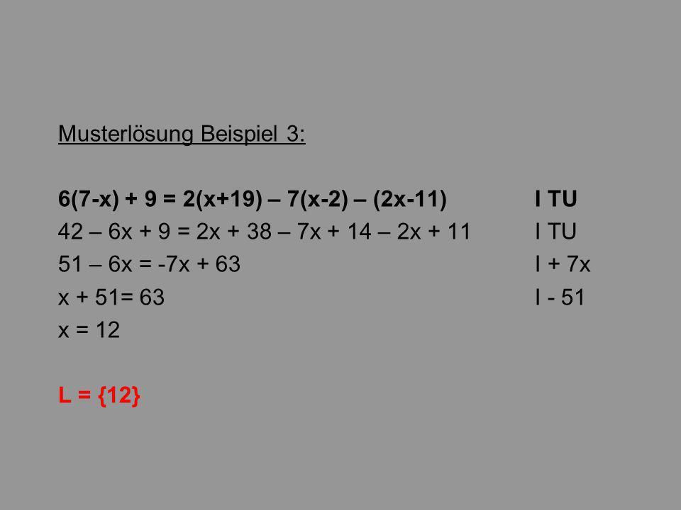 Musterlösung Beispiel 3: