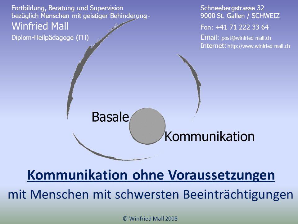 Kommunikation ohne Voraussetzungen