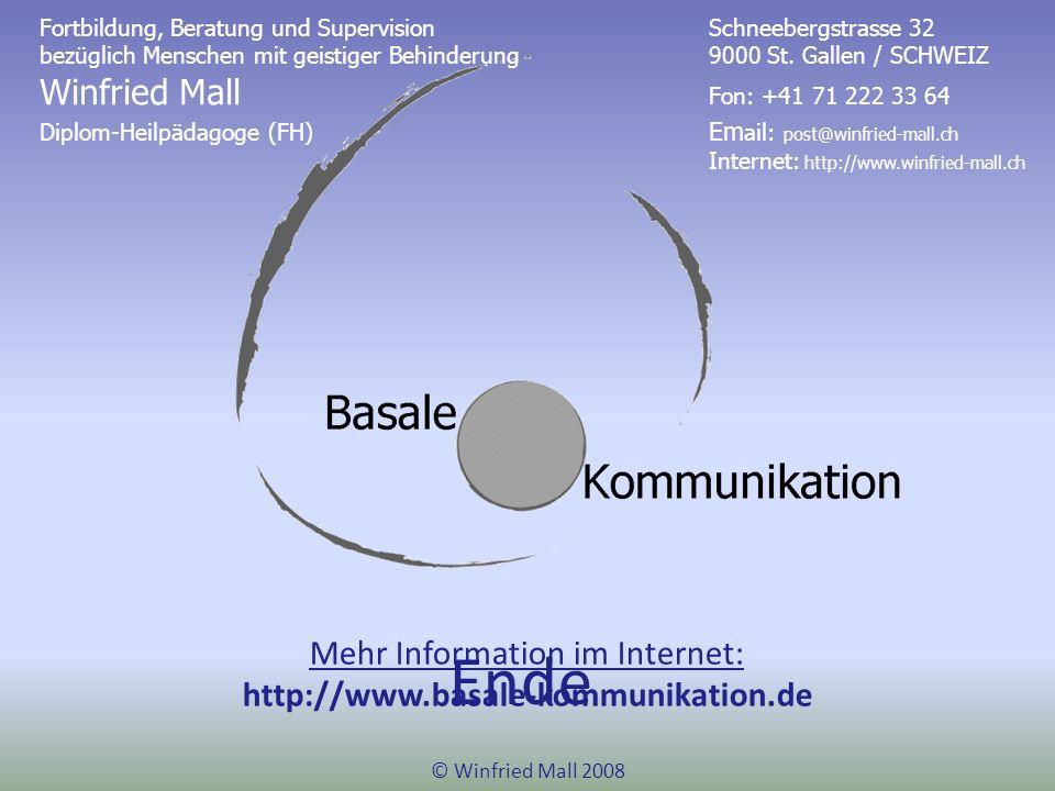 Mehr Information im Internet: http://www.basale-kommunikation.de
